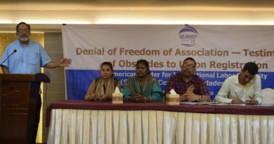"""Denial of Freedom of Association: Testimonies of Obstacles to Union Registration"""