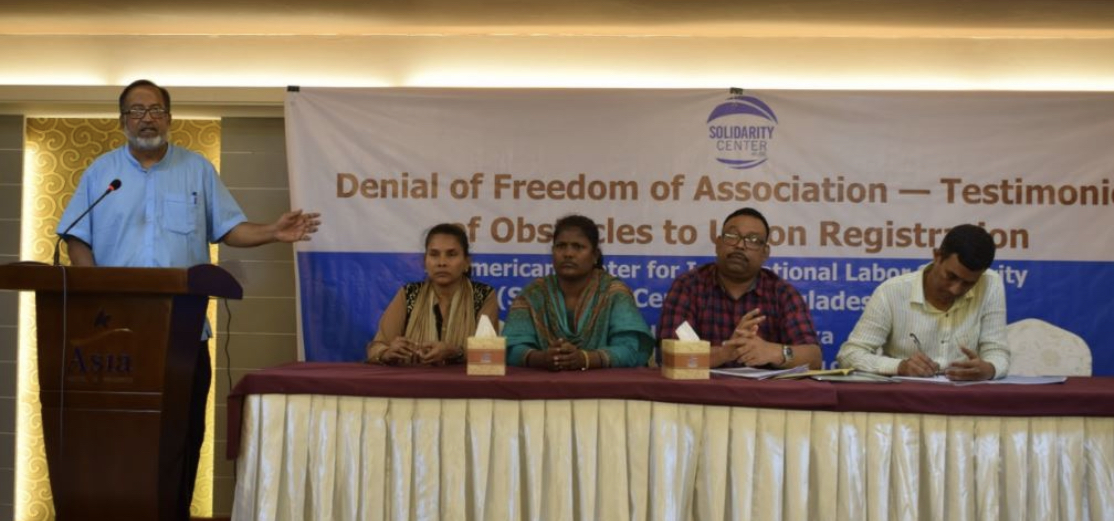 """Denial Of Freedom Of Association: Testimonies Of"