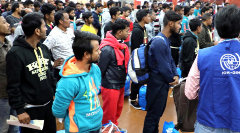 IOM supports 152 Bangladeshi to return home from Libya
