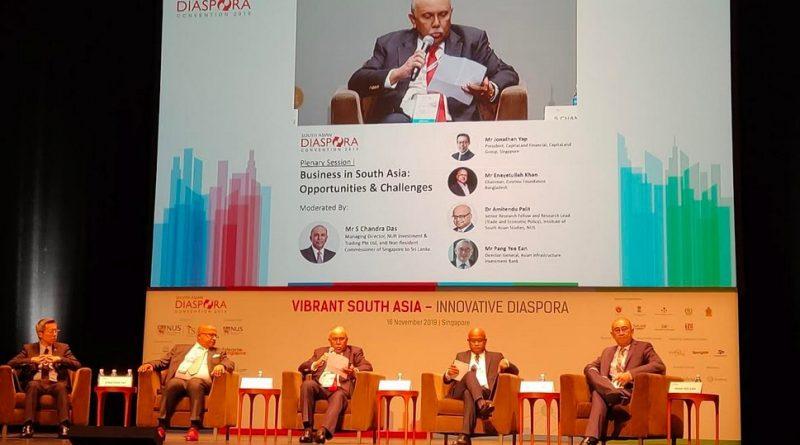 South Asia Diaspora Convention (SADC) 2019 held in Singapore